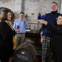 Doddie Weir selects a cask for My Name'5 Doddie Foundation