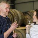 Organic distillery fills 'Hope lies in dreams' casks